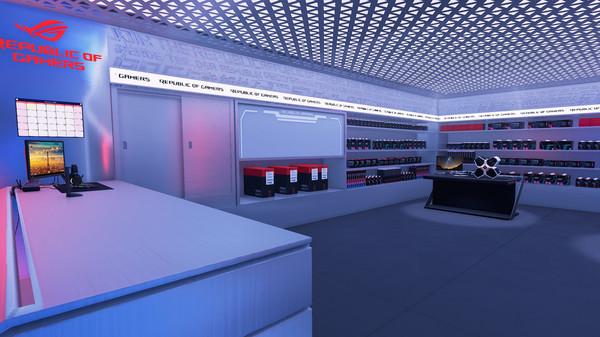 Скриншот №6 к PC Building Simulator - Republic of Gamers Workshop