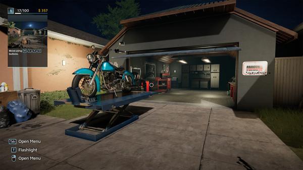 Скриншот №8 к Motorcycle Mechanic Simulator 2021