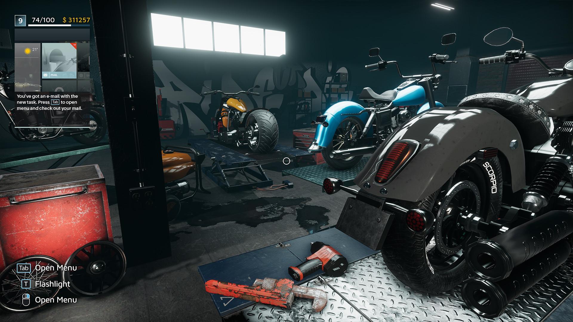 Motorcycle Mechanic Simulator 2021 on Steam