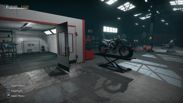 Скриншот №6 к Motorcycle Mechanic Simulator 2021