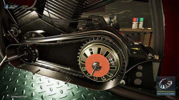 Скриншот №5 к Motorcycle Mechanic Simulator 2021