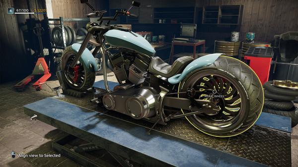 Скриншот №1 к Motorcycle Mechanic Simulator 2021