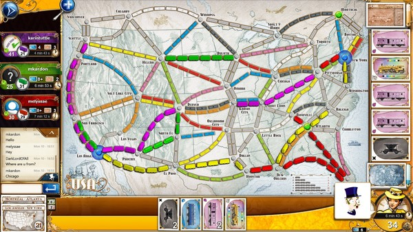 Ticket to Ride скриншот
