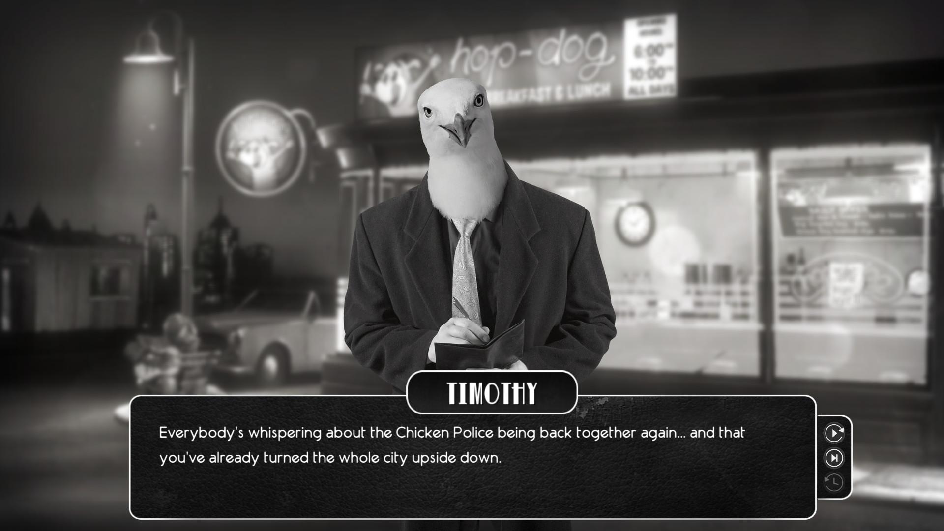 公鸡神探:鲜血染红!(Chicken Police)导演咯咯声版 官中插图11