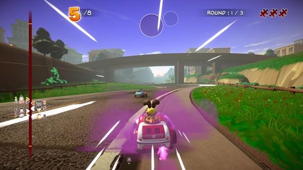 Скриншот №2 к Garfield Kart - Furious Racing