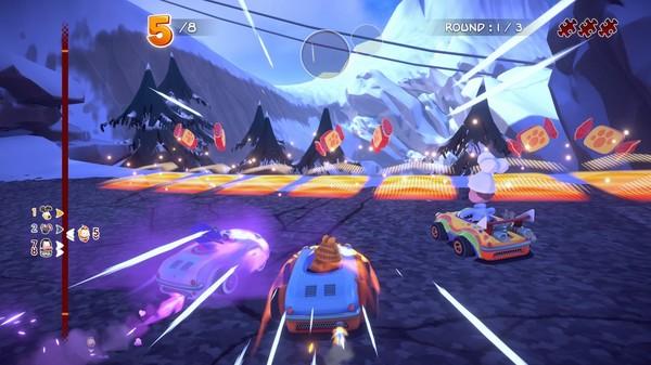Скриншот №3 к Garfield Kart - Furious Racing