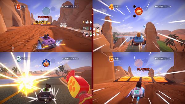 Скриншот №12 к Garfield Kart - Furious Racing
