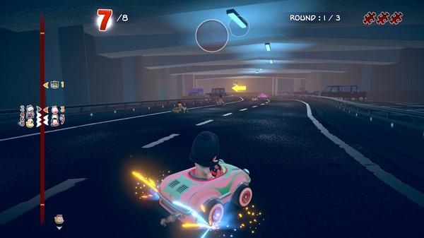 Скриншот №1 к Garfield Kart - Furious Racing