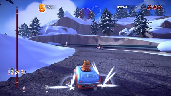 Скриншот №13 к Garfield Kart - Furious Racing