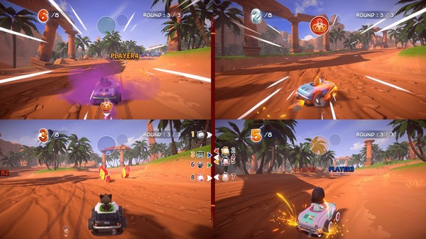 Скриншот №6 к Garfield Kart - Furious Racing