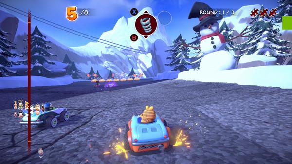 Скриншот №16 к Garfield Kart - Furious Racing