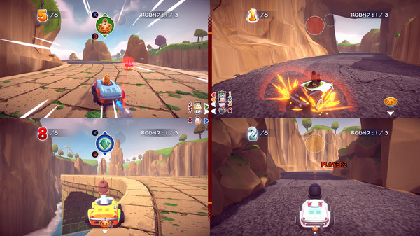 Скриншот №14 к Garfield Kart - Furious Racing