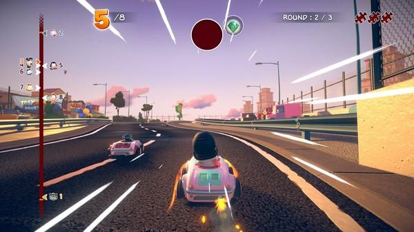 Скриншот №4 к Garfield Kart - Furious Racing