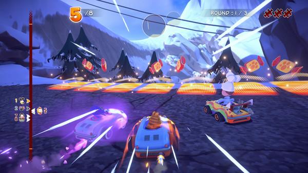 Скриншот №10 к Garfield Kart - Furious Racing