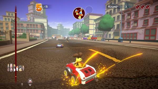 Скриншот №5 к Garfield Kart - Furious Racing