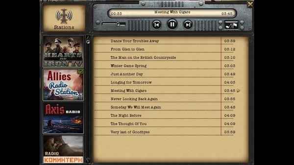 Скриншот №2 к Hearts of Iron IV Radio Pack
