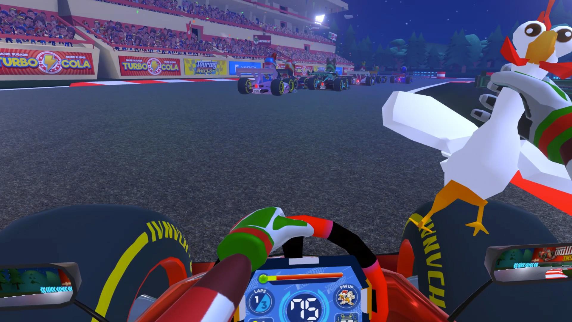 Oculus Quest 游戏《Touring Karts》疯狂卡丁车插图(2)