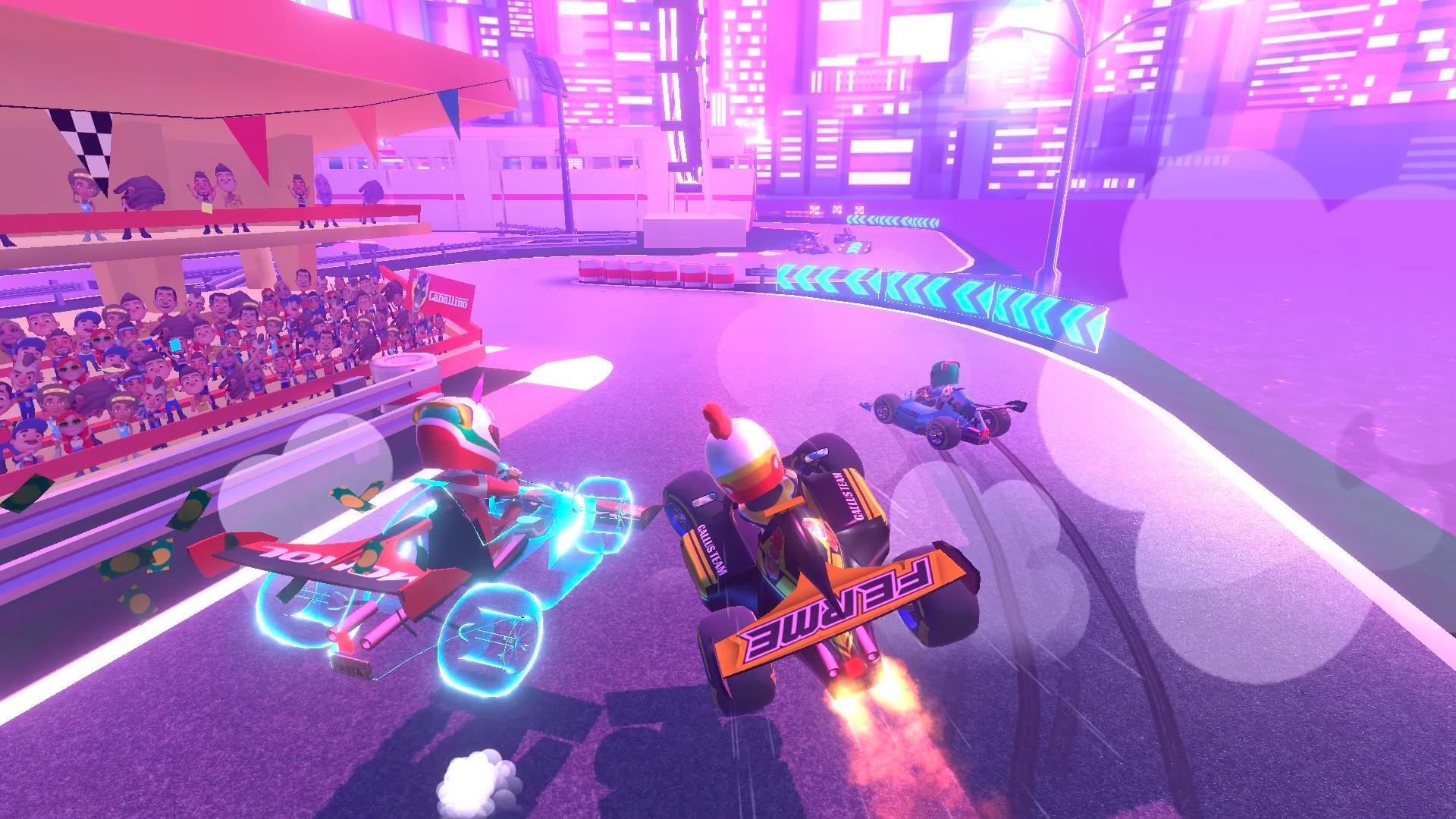 Oculus Quest 游戏《Touring Karts》疯狂卡丁车插图(3)