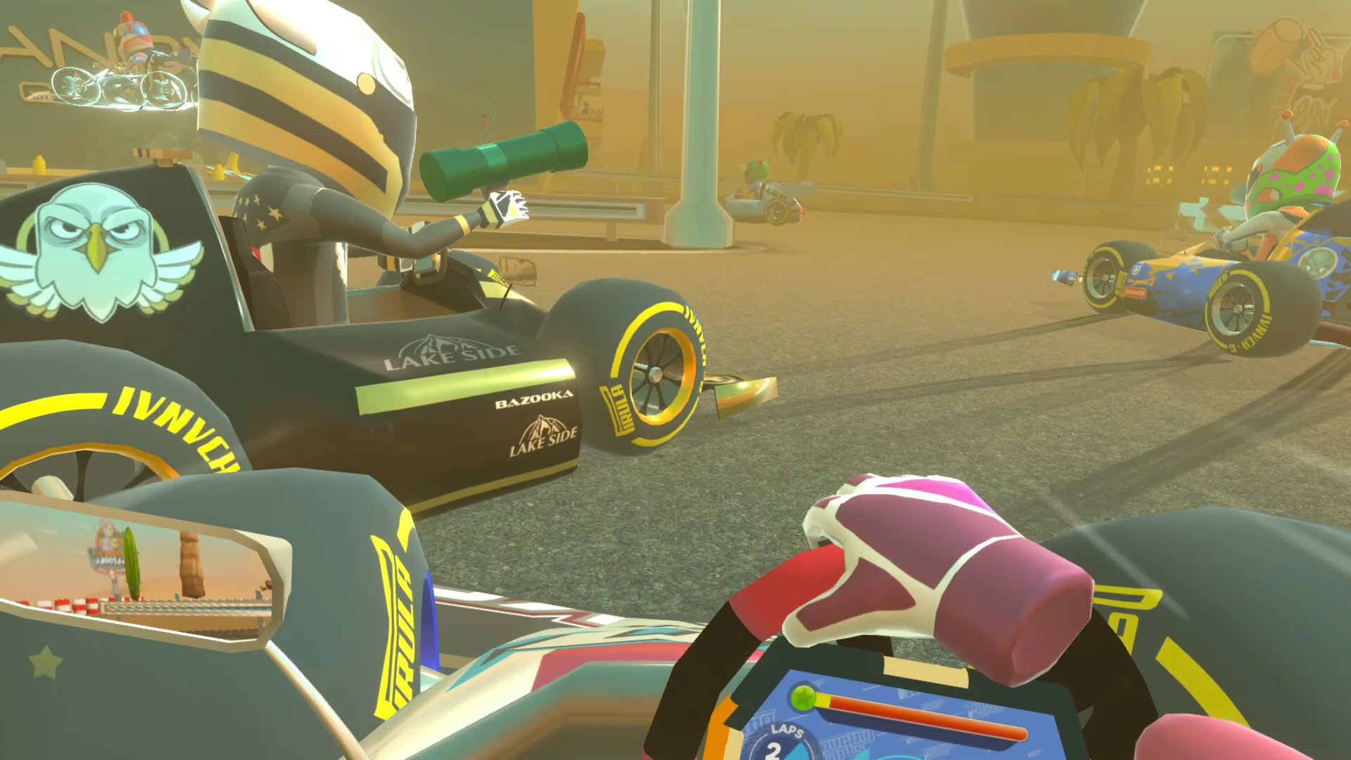 Oculus Quest 游戏《Touring Karts》疯狂卡丁车插图