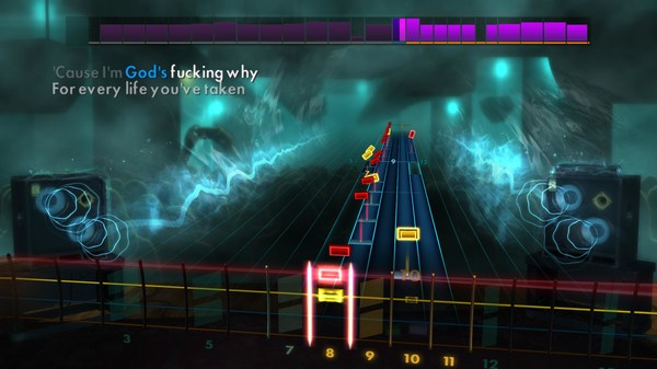 """Скриншот №4 к Rocksmith® 2014 Edition – Remastered – Trivium - """"Pull Harder on the Strings of Your Martyr"""""""