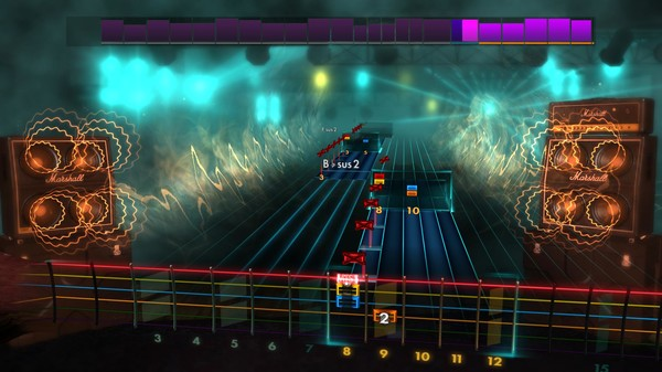 """Скриншот №3 к Rocksmith® 2014 Edition – Remastered – Trivium - """"Pull Harder on the Strings of Your Martyr"""""""
