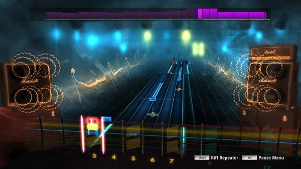 "Скриншот №1 к Rocksmith® 2014 Edition – Remastered – Trivium - ""Dying in Your Arms"""