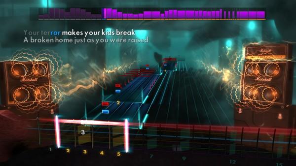 "Скриншот №2 к Rocksmith® 2014 Edition – Remastered – Trivium - ""A Gunshot to the Head of Trepidation"""