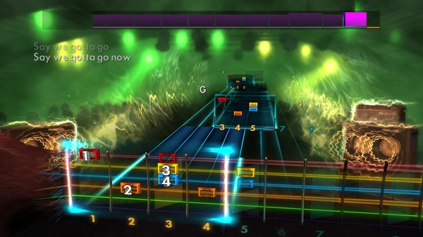 Скриншот №2 к Rocksmith® 2014 Edition – Remastered – Rockin Covers Song Pack II