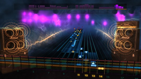 "Скриншот №2 к Rocksmith® 2014 Edition – Remastered – Nightwish - ""Over the Hills and Far Away"""