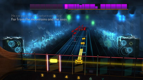 "Скриншот №4 к Rocksmith® 2014 Edition – Remastered – Nightwish - ""Over the Hills and Far Away"""