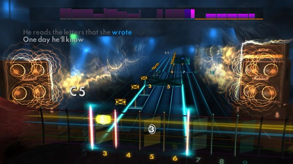 "Скриншот №3 к Rocksmith® 2014 Edition – Remastered – Nightwish - ""Over the Hills and Far Away"""