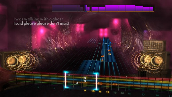 "Скриншот №2 к Rocksmith® 2014 Edition – Remastered – Tegan and Sara - ""Walking with a Ghost"""