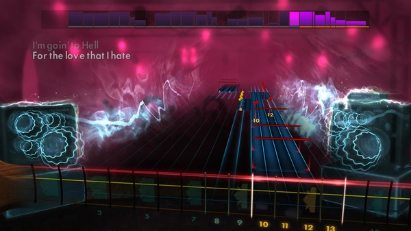 """Скриншот №5 к Rocksmith® 2014 Edition – Remastered – The Pretty Reckless - """"Going to Hell"""""""