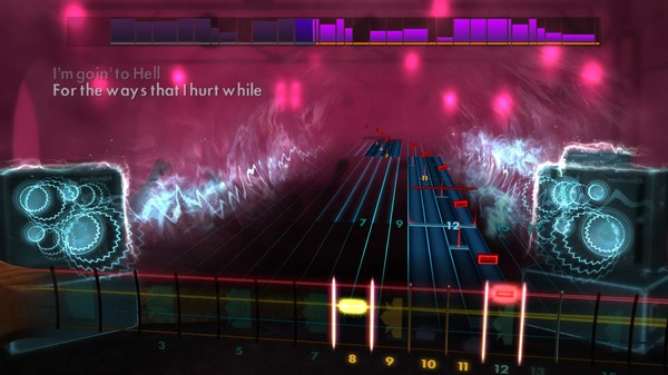 """Скриншот №4 к Rocksmith® 2014 Edition – Remastered – The Pretty Reckless - """"Going to Hell"""""""