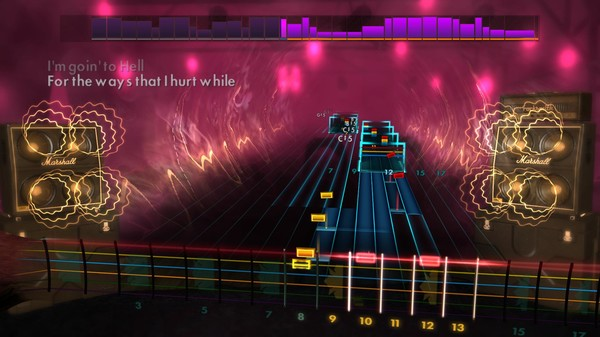 """Скриншот №2 к Rocksmith® 2014 Edition – Remastered – The Pretty Reckless - """"Going to Hell"""""""