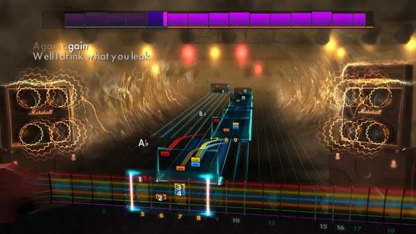 "Скриншот №1 к Rocksmith® 2014 Edition – Remastered – The Pretty Reckless - ""My Medicine"""