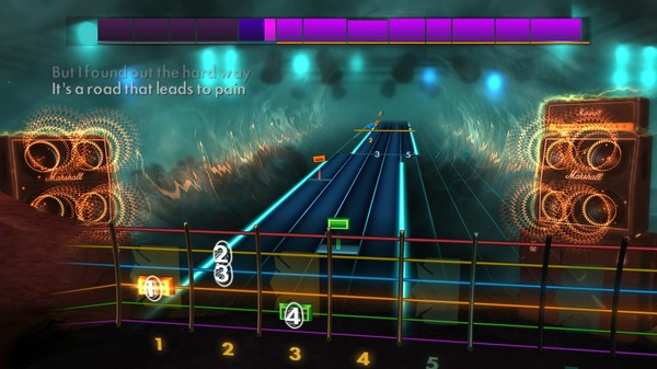 "Скриншот №2 к Rocksmith® 2014 Edition – Remastered – Gary Moore - ""Over the Hills and Far Away"""