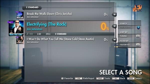 "Скриншот №3 к Rocksmith® 2014 Edition – Remastered – Jim Johnston - ""Electrifying The Rock"""