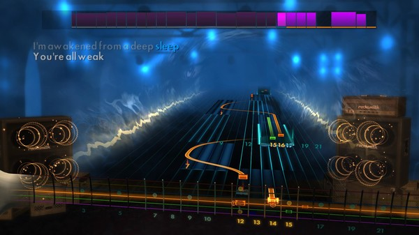 "Скриншот №1 к Rocksmith® 2014 Edition – Remastered – Jim Johnston - ""Break the Walls Down Chris Jericho"