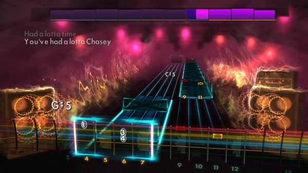 "Скриншот №4 к Rocksmith® 2014 Edition – Remastered – Bloodhound Gang - ""The Ballad of Chasey Lain"""