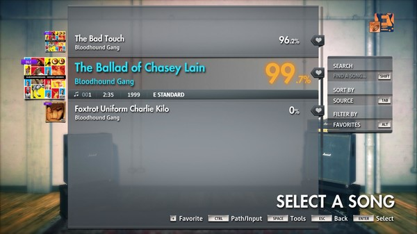 "Скриншот №3 к Rocksmith® 2014 Edition – Remastered – Bloodhound Gang - ""The Ballad of Chasey Lain"""