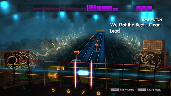 "Скриншот №2 к Rocksmith® 2014 Edition – Remastered – The Go-Gos - ""We Got the Beat"""