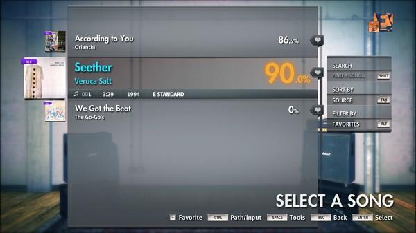 "Скриншот №2 к Rocksmith® 2014 Edition – Remastered – Veruca Salt - ""Seether"""