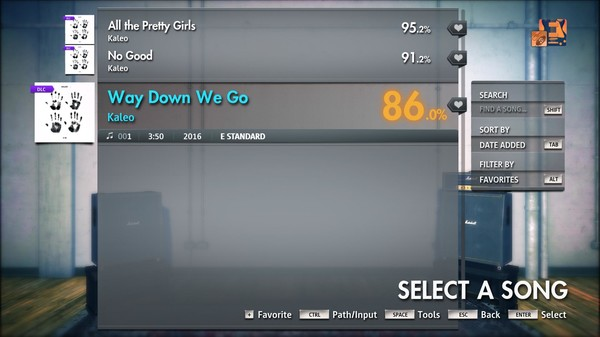 "Скриншот №3 к Rocksmith® 2014 Edition – Remastered – Kaleo - ""Way Down We Go"""