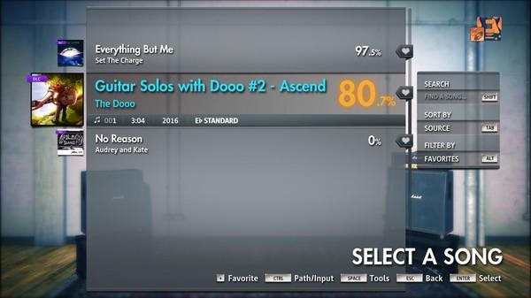 "Скриншот №3 к Rocksmith® 2014 Edition – Remastered – The Dooo - ""Guitar Solos with Dooo 2 - Ascend"""