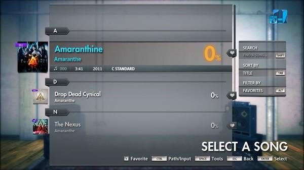 "Скриншот №3 к Rocksmith® 2014 Edition – Remastered – Amaranthe - ""Amaranthine"""