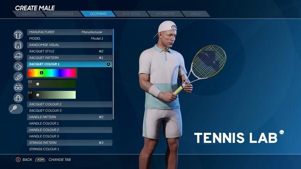 AO Tennis 2 Tools screenshot