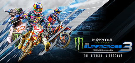 Monster Energy Supercross - The Official Videogame 3 Cover Image