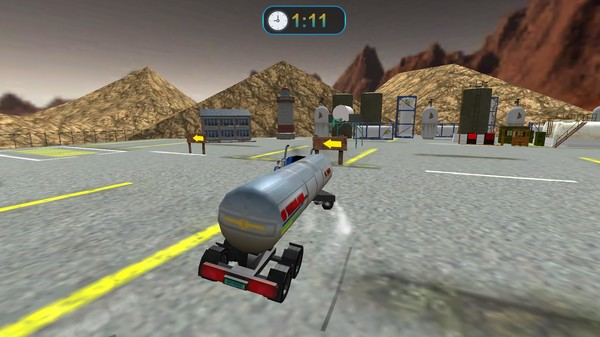 Transporter Truck Simulator screenshot