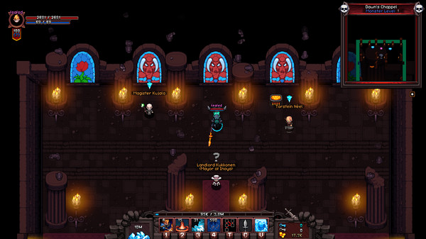 Скриншот №1 к Hero Siege - Chaos Lancer Skin